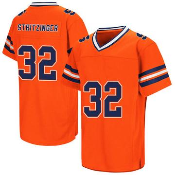 Men's Allen Stritzinger Syracuse Orange Game Orange Colosseum Football College Jersey