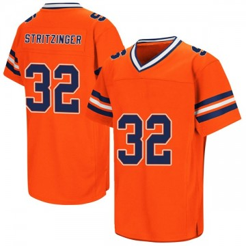 Men's Allen Stritzinger Syracuse Orange Replica Orange Colosseum Football College Jersey
