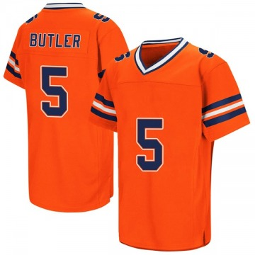 Men's Devin C. Butler Syracuse Orange Game Orange Colosseum Football College Jersey