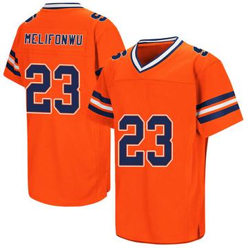 Men's Ifeatu Melifonwu Syracuse Orange Game Orange Colosseum Football College Jersey
