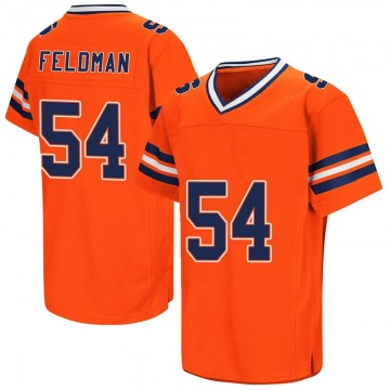 Men's Ky Feldman Syracuse Orange Replica Orange Colosseum Football College Jersey