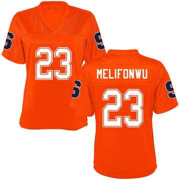 Women's Ifeatu Melifonwu Syracuse Orange Game Orange Football College Jersey