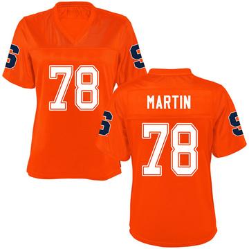 Women's Koda Martin Syracuse Orange Replica Orange Football College Jersey