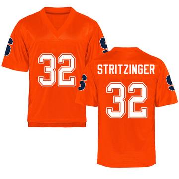 Youth Allen Stritzinger Syracuse Orange Replica Orange Football College Jersey