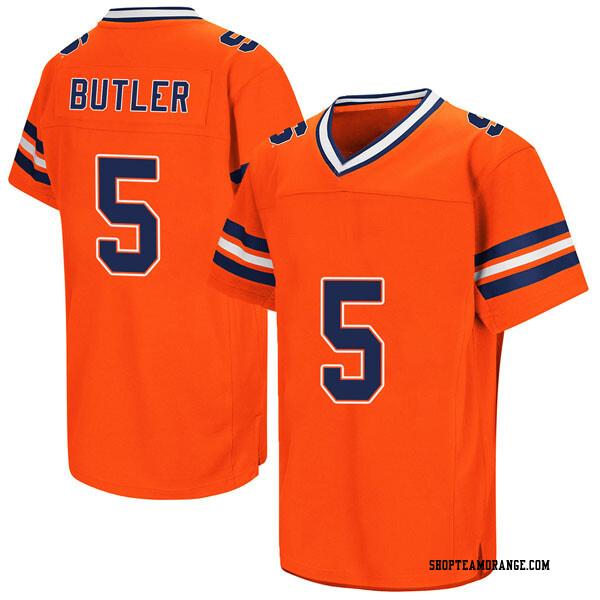 Youth Devin C. Butler Syracuse Orange Replica Orange Colosseum Football College Jersey