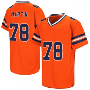 Youth Koda Martin Syracuse Orange Replica Orange Colosseum Football College Jersey