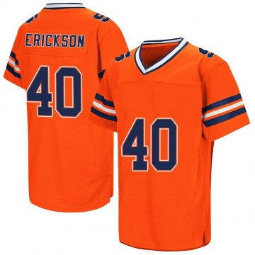Youth Luke Erickson Syracuse Orange Replica Orange Colosseum Football College Jersey